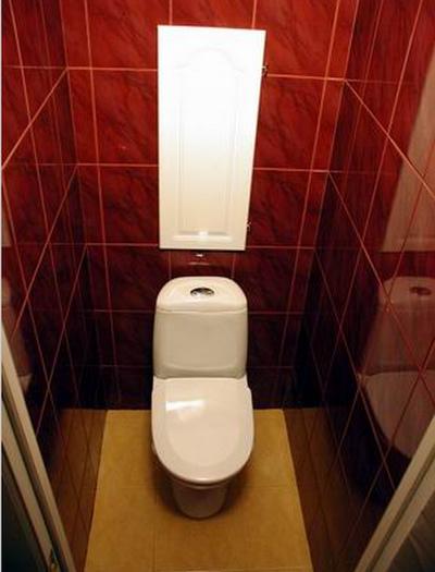 Дизайн маленького туалета фото (10)