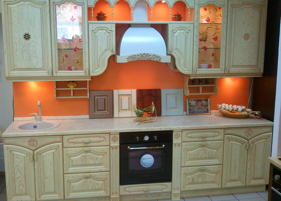 Кухни из массива фото-9