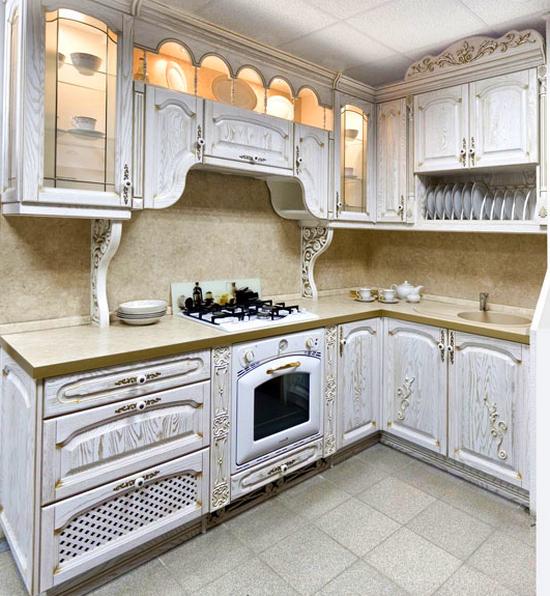 Кухни из массива фото-11