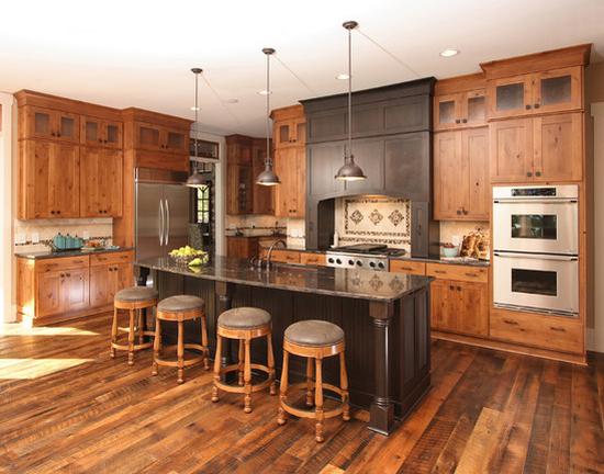 Кухни из массива фото-14