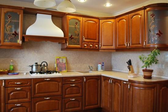 Кухни из массива фото-3