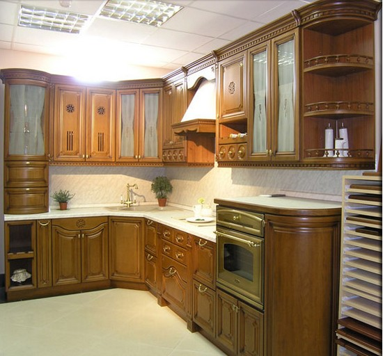 Кухни из массива фото-4