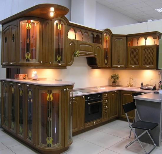 Кухни из массива фото-6