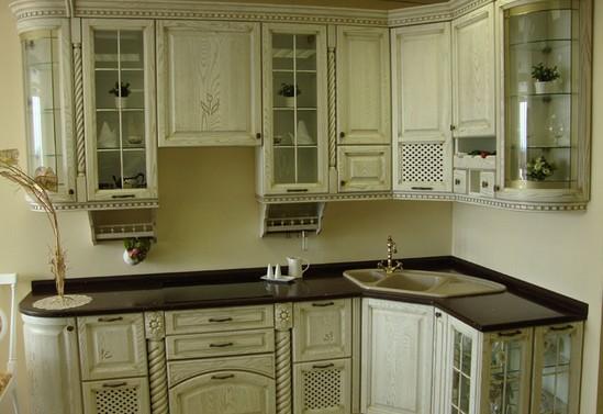 Кухни из массива фото-7