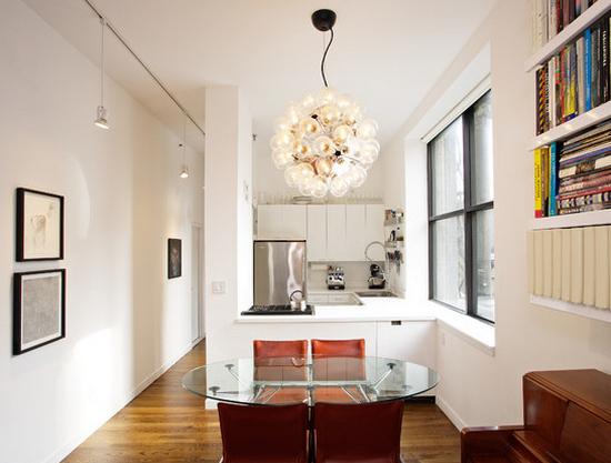 Кухня в коридоре фото-8