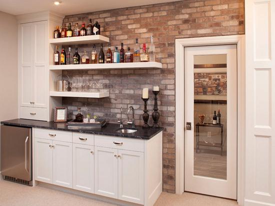 Кухня в коридоре фото-12