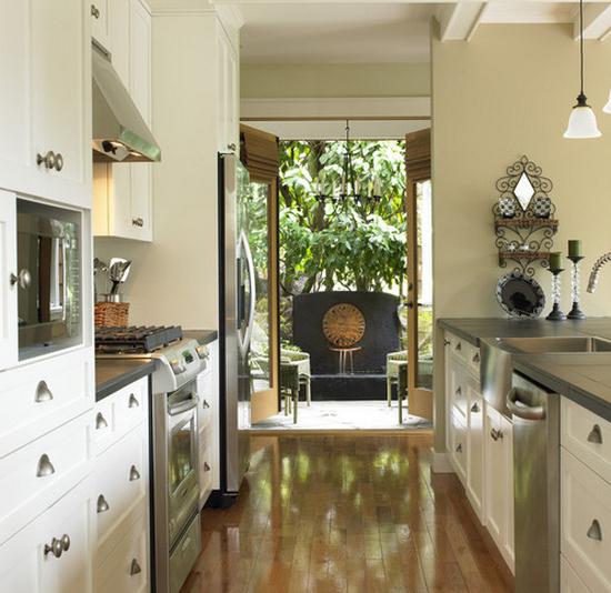 Кухня в коридоре фото-2