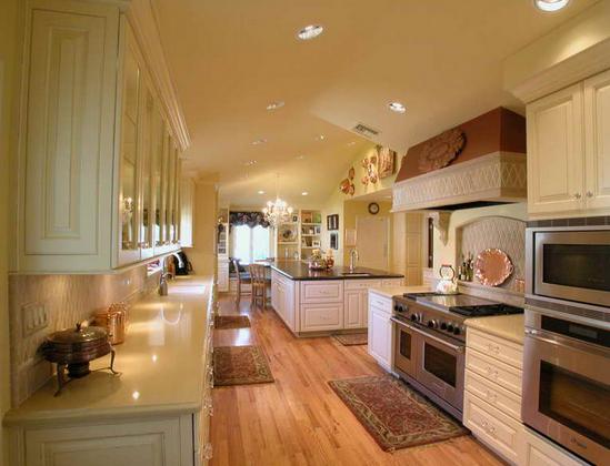 Кухня в коридоре фото-4