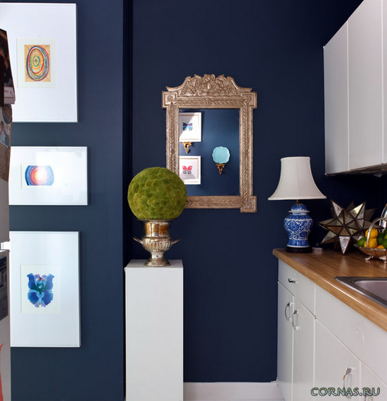 Отделка стен кухни фото