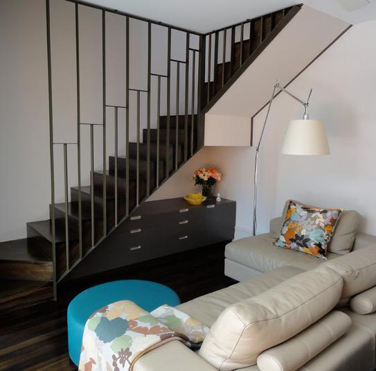 Мебель под лестницей фото