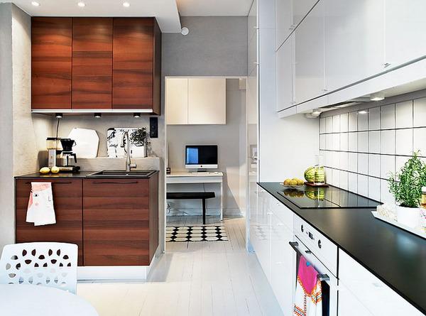 кухни 13 кв м фото дизайн