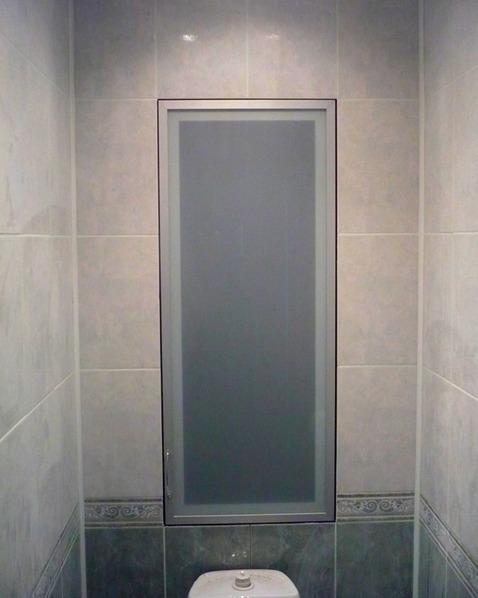 Шкаф в туалете фото (4)