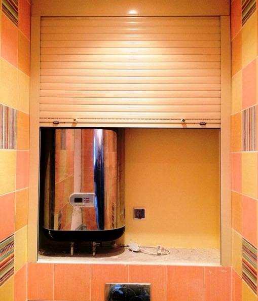 Шкаф в туалете фото (6)