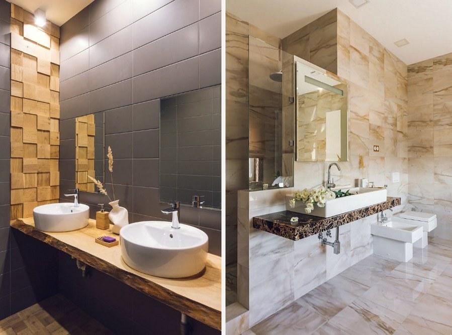 Ванная квартиры лофт