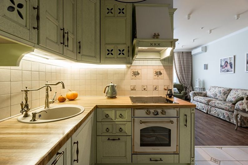 Дизайн кухни в стиле прованс - 50 фото интерьеров, идеи ремонта