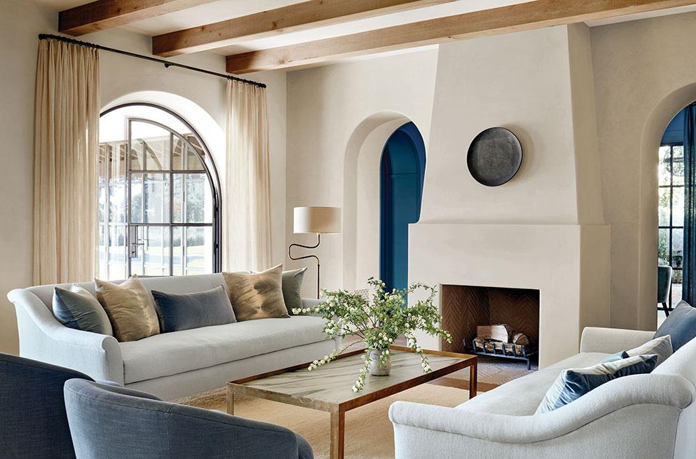 〚 Элегантные и уютные интерьеры колониального особняка в Калифорнии 〛 ◾ Фото ◾Идеи◾ Дизайн