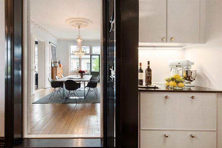 〚 Сочная эклектика в интерьере квартиры в Норвегии 〛 ◾ Фото ◾Идеи◾ Дизайн